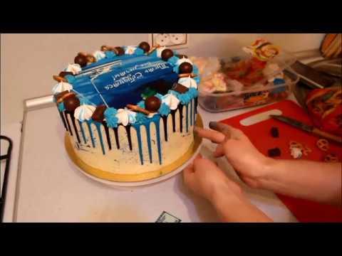 Как Украсить Торт Цветные Подтёки Торт Для Мужчин