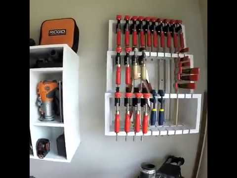 DIY Hinged Bessey Clamp Storage (Preview)