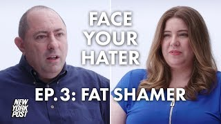 Fat Shamer Debates Plus-Size Model About Body Shaming | Face Your Hater | New York Post