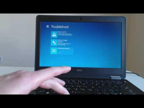 Dell Laptop Factory Restore For Windows Xps Inspiron Or La Ude