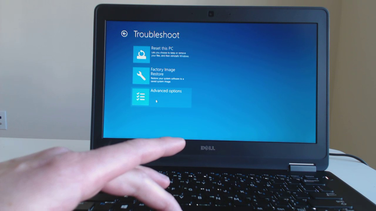 Dell Laptop Factory Restore for Windows 10 XPS, Inspiron ...