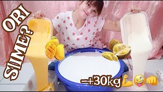 NGADUK TIME - -+ 30KG ORIGINAL SLIME FREE CREATION - FRUITS SERIES SCENT TUTORIAL SLIME INDONESIA