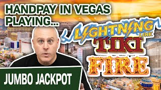 ⚡ Handpay Jackpot on LIGHTNING LINK: TIKI FIRE 🎰 HIGH-LIMIT Slot Machines in VEGAS