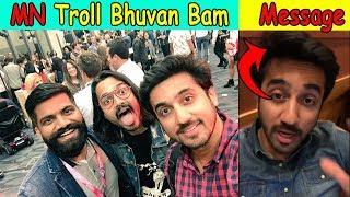 Mumbiker Nikhil Message to all Youtubers || Mumbiker Nikhil Troll Bhuvan Bam || Stalking King