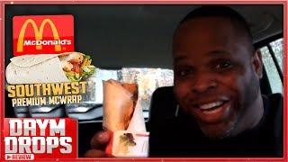 McDonalds Southwest Premium McWrap