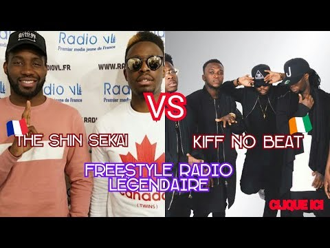 🔴THE SHIN SEKAI VS KIFF NO BEAT - ►Freestyle Legendaire #4