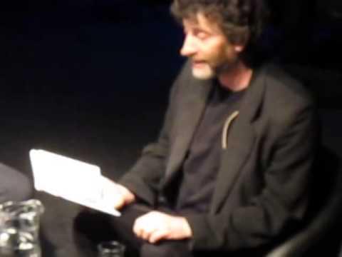 "Neil Gaiman, ""Fortunately The Milk"", Oslo 26/05/2014"