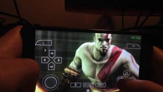 [ XIAOMI MI 4C ] GOD OF WAR [ PPSSPP: PSP emulator for Android ] GAMEPLAY TEST PHONE