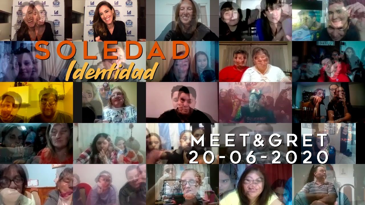 "SOLEDAD   Meet & Greet ""Identidad"" (20/6/2020)"