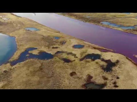 В Норильске ликвидируют последствия экологической катастрофы.