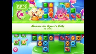 Candy Crush Jelly Saga Level 1332 (3 stars, No boosters)