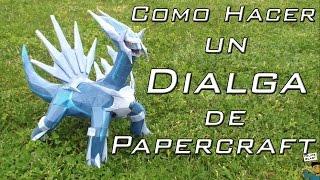 [M-H] Como hacer un Dialga de papel (Pokemon Papercraft #3) | FelipeBlast