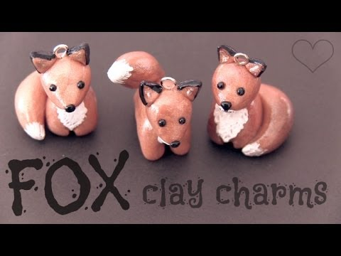 how to make iced vovos out of polymer clay