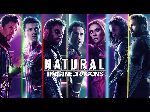 Marvel Tribute   Imagine Dragons - Natural