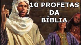 Gambar cover 10 Profetas descritos na Bíblia