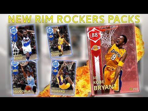 NBA 2k18 My Team - NEW RIM ROCKERS PACKS!! RUBY KOBE BRYANT REWARD! WARNING DO NOT OPEN THIS PACKS!!