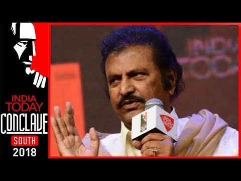 Rajini And Kamal Worked With Me; Not The Other Way Round: Mohan Babu|India Today South Conclave 2018