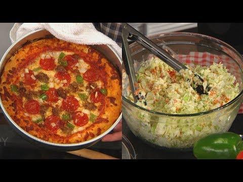 Food Hacker Todd Wilbur's Pizza Hut Pizza & KFC Cole Slaw