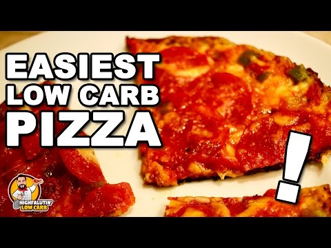 EASY LOW CARB PIZZA! Fast Keto Pizza Recipe + Staycation Vacation