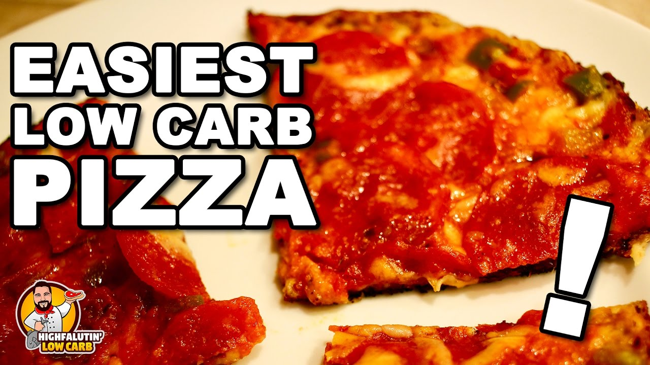 Easy low-carb pizza recipes