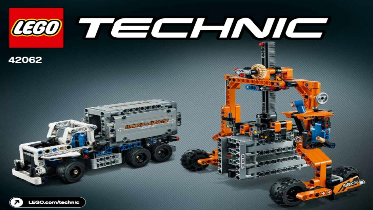 lego technic 2017 container yard 42062 2 youtube. Black Bedroom Furniture Sets. Home Design Ideas