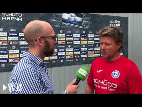 Vor DFB-Pokal-Spiel gegen Düsseldorf: Arminias Jeff Saibene und Stefan Ortega Moreno im Interview