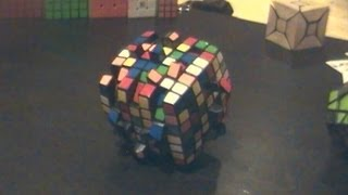 7x7 cutter cube (World Record)