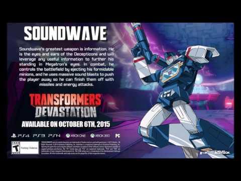 Transformers Devastation Soundtrack - Soundwave