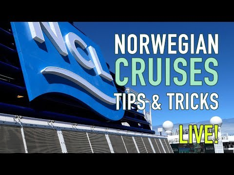 Norwegian Cruises Tips And Tricks - Livestream
