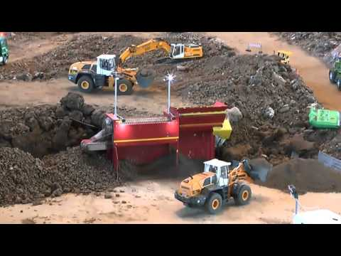 HEAVY CONSTRUCTION SITE, AWESOME RC MACHINES WORKING, RC CONSTRUCTION SITE !