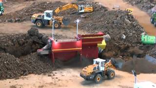 BIG AND HEAVY RC CONSTRUCTION SITE! VERY LONG, big and amazing models