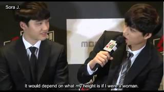 [ENG SUB] 131128 EXO's questions to each other + secrets @ EXO Showtime Press Conference