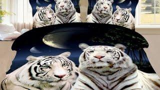 3d постельное белье семейное с тиграми(3d постельное белье семейное одна из самых современных тенденций в мире текстильной моды. Комплект постельн..., 2014-10-11T16:19:44.000Z)