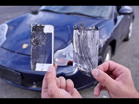 Using iPhones as Brake Pads Test - Can They Stop a 60MPH Porsche 911?