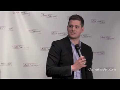 Michael Buble comments on Digital Radio and on Martini in the Morning