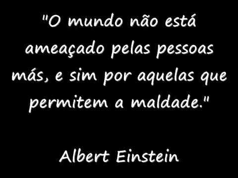 Frases De Albert Einstein Motivação Youtube