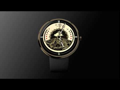 Steampunk - Animated Watch Face Latest version Apk Download - com