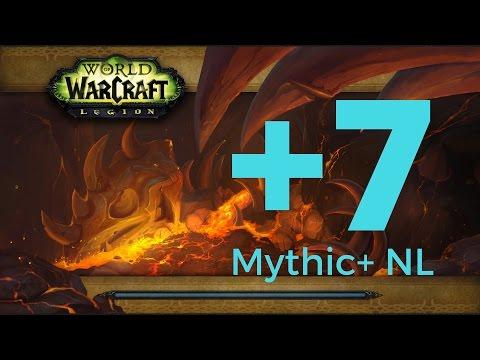 Legion Beta - Resto Druid Gameplay - Mythic [+7] Neltharion's Lair