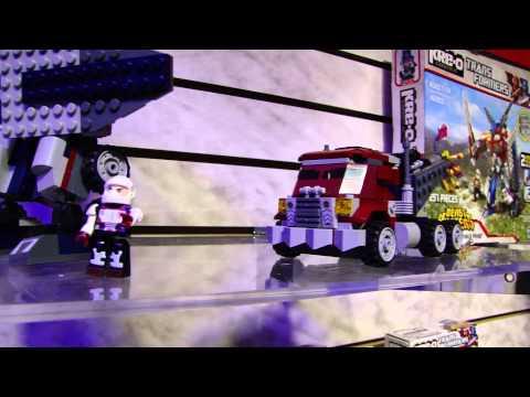 Toy Fair 2013 Transformers Kre-O Sets