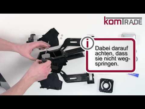 Krups Orchestro Reparaturanleitung Brüheinheit/Brühgruppe reparieren-revidieren-überholen