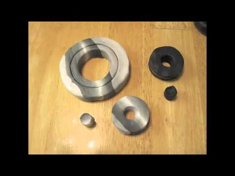 how to make gears out of clay