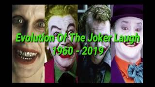 جميع ضحكات الجوكر ( ١٩٦٠-٢٠١٩ )  | Joker