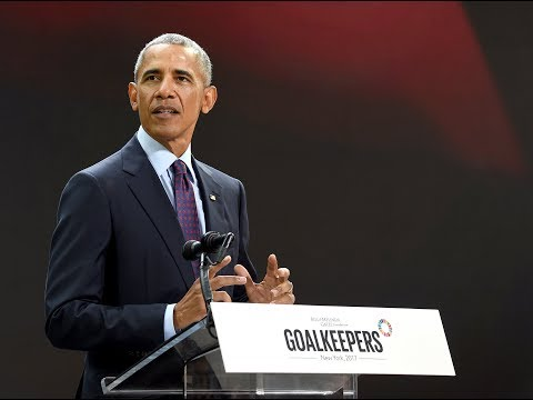 Barack Obama touts the virtue of change (Entire speech)