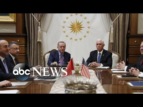 US 'ceasefire' with Turkey appears to fall apart l ABC News