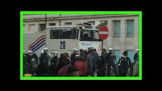 Weer rellen in brussel: 100 mensen opgepakt