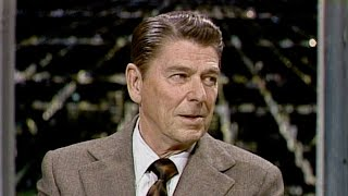 Ronald Reagan Interview on The Tonight Show Starring Johnny Carson - 01/03/1975 - Part 01