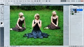 How to Insert Pictures Into Frames in Photoshop