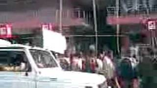 Akhil Gogoi : People marching towards Dispur to observe Assam Hatred Day - Jan 10, 2011