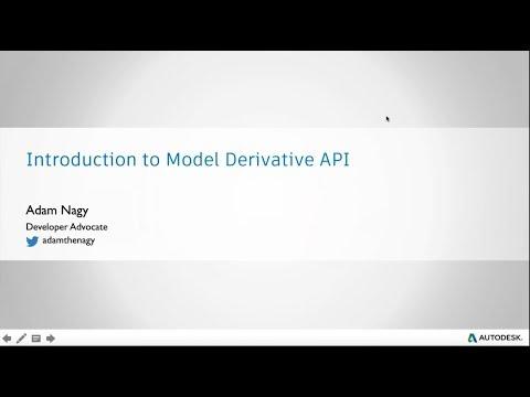 BIM 360 Online Hackathon: Intro to the Model Derivative API