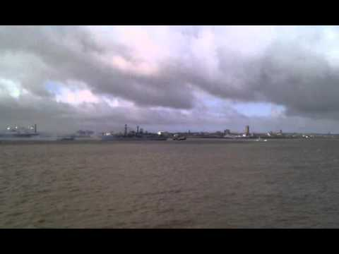 HMS Liverpool - farewell visit to Liverpool March 2012 Part 4